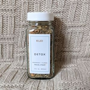 Klei Detox Facial Steam - Brand New, Sealed